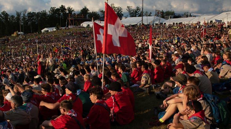 Dutzende Teilnehmer aus der Region am Weltpfadilager in den USA