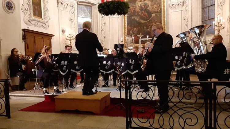 Adventskonzert der Musikgesellschaft Oberdorf