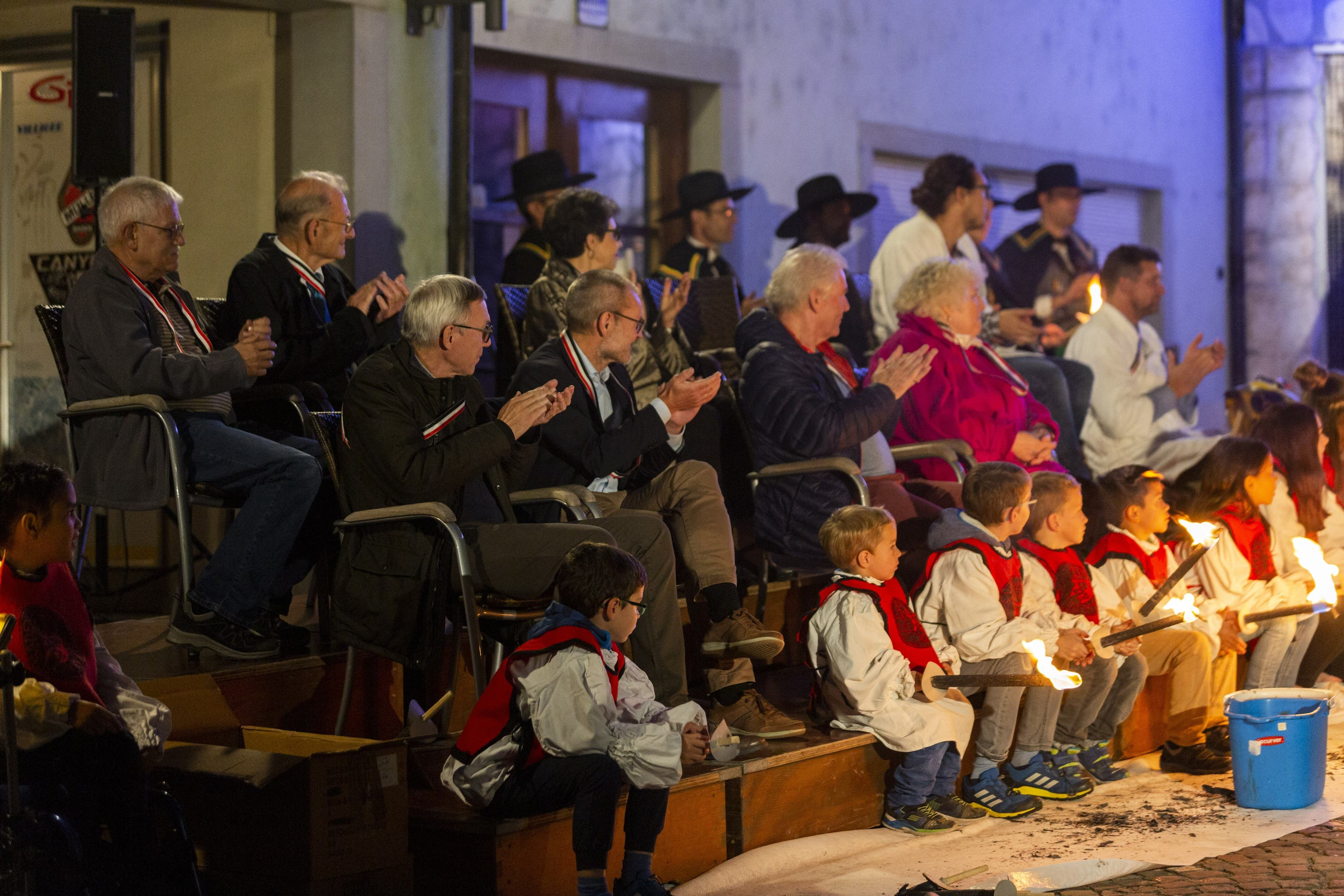 Cordulafeier der Spanischbrödlizunft Baden, am 23. Oktober 2019.