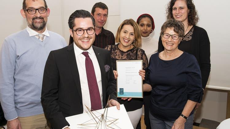 «Preis gehört unseren Mitarbeitenden» – Das Alterszentrum Leuenmatt wird ausgezeichnet