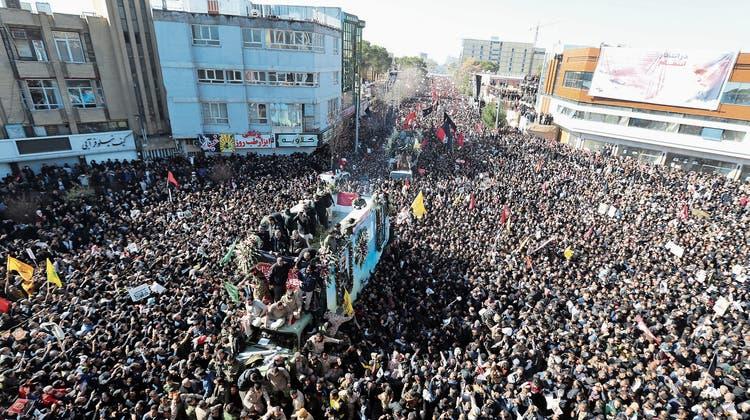 «Die Iraner wollen Demokratie» – ein Aarauer erzählt von den Protesten in seinem Heimatland