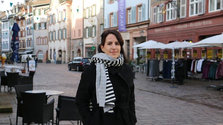 Sie ist City-Managerin – und sucht Schwung fürs Städtchen