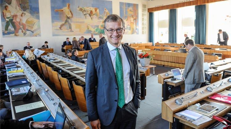 Wie Grünen-Landrat Klaus Kirchmayr an seiner neuen Firma bastelt