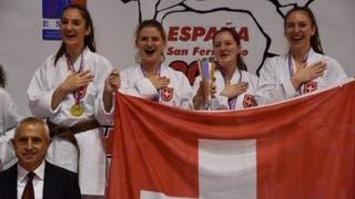 Europameister und Vize-Europameister