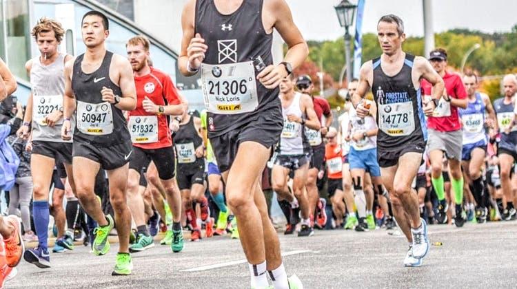 Trotz Magenkrämpfen: 18-jähriger Grenchner läuft am Berlin-Marathon aufs Podest