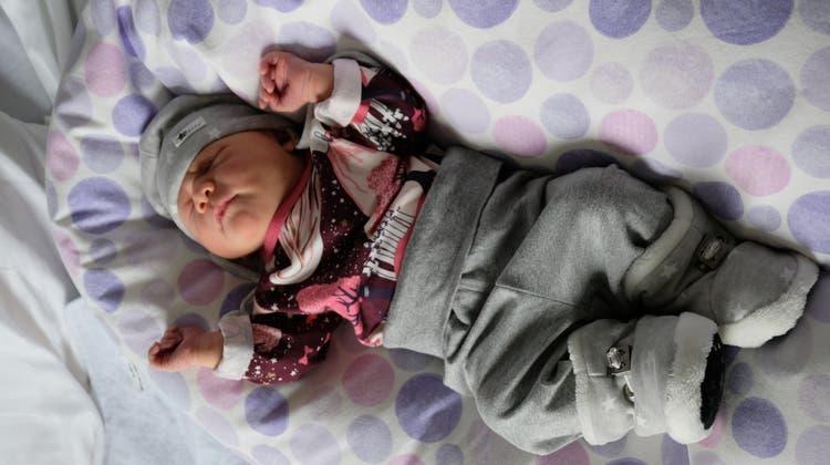 Elin Joy Keller ist das erste «Limmi»-Baby dieses Jahres