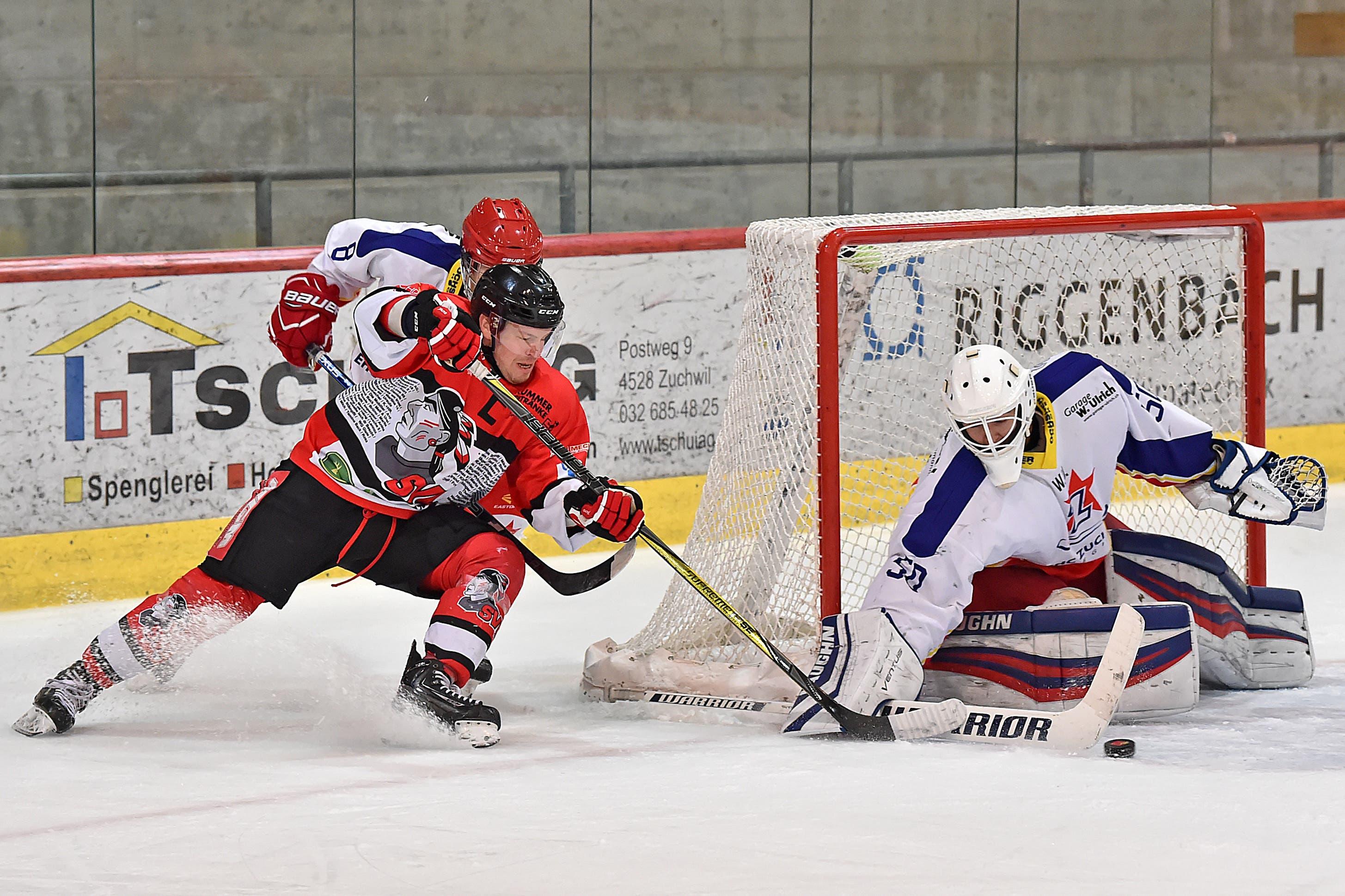 Der Leader Zuchwil Regio setzte sich gegen den Tabellendritten Burgdorf mit 4:0 durch.
