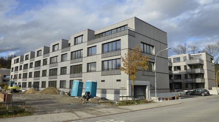 Zwei weitere Gebäude in der Aarenau sind nun fertig — im Frühling soll das Grün spriessen