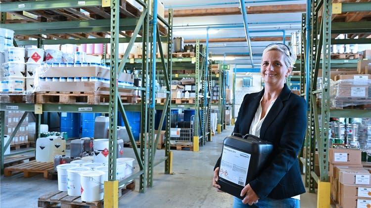 Die Winoil AG stellt Reinigungsprodukte her