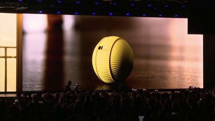 Eine Art Star-Wars-Roboter für zuhause: Samsungs neueste Erfindung heisst «Ballie»