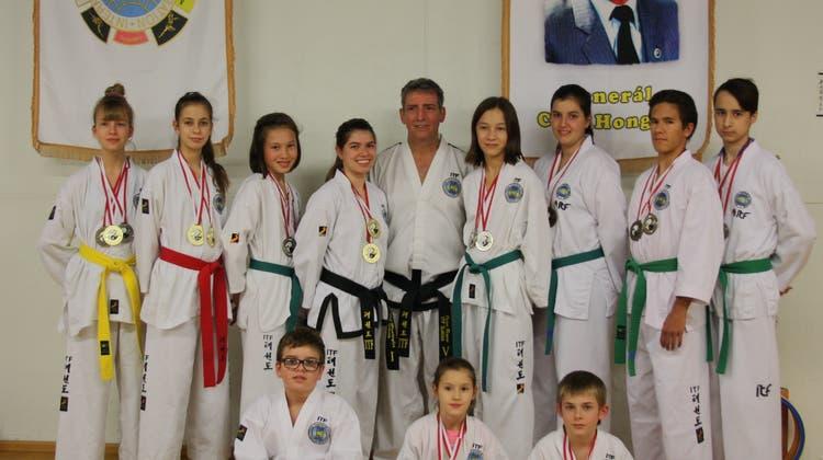 Starke Leistung an Schweizer Meisterschaft im Taekwon-Do