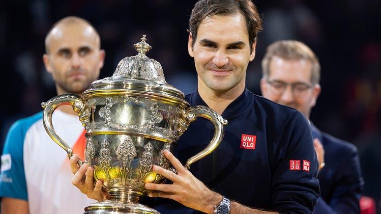 Können Sie es mit Roger Federer aufnehmen? Testen Sie im Quiz Ihr Wissen über die besten Spieler der Swiss Indoors 2019