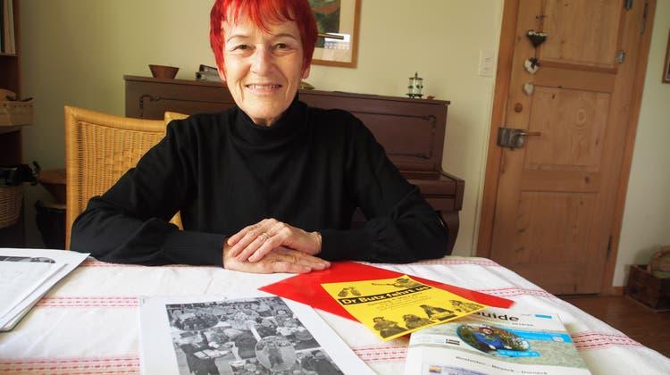 Madlena Amsler hat vor 10 Jahren einen alten Brauch aus Dornröschenschlaf geweckt: Den Prattler Butz. Seither zieht die Figur mit anderen Gesellen jeweils am Samstag vor dem Fasnachts-Umzug durchs Dorf.