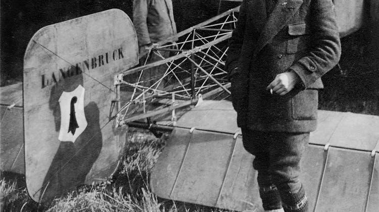 Oskar Bider: Bilderbuchkarriere eines Flugpioniers