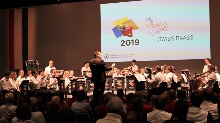 Toller Erfolg für die Aedermannsdörfer Brass Band
