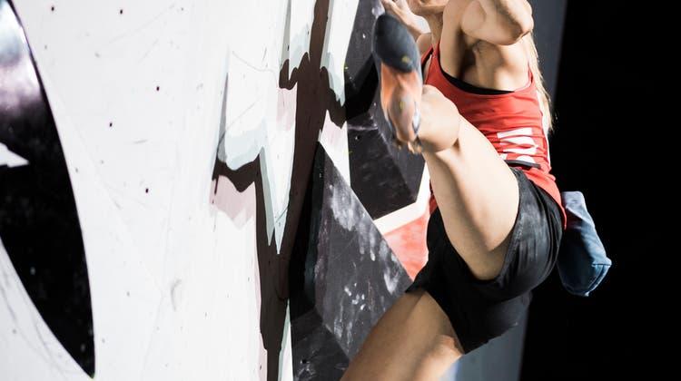 Erfolg an Weltmeisterschaft im Sportklettern: Petra Klingler löst Ticket für die Olympischen Spiele 2020