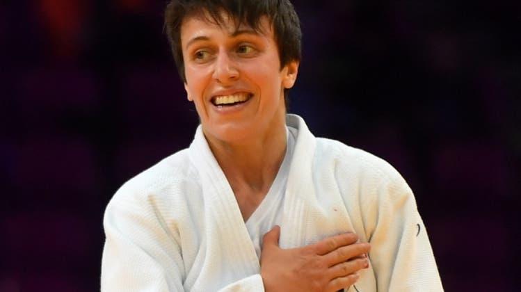 Judoka Evelyne Tschopp in Perth zurück auf dem Podest