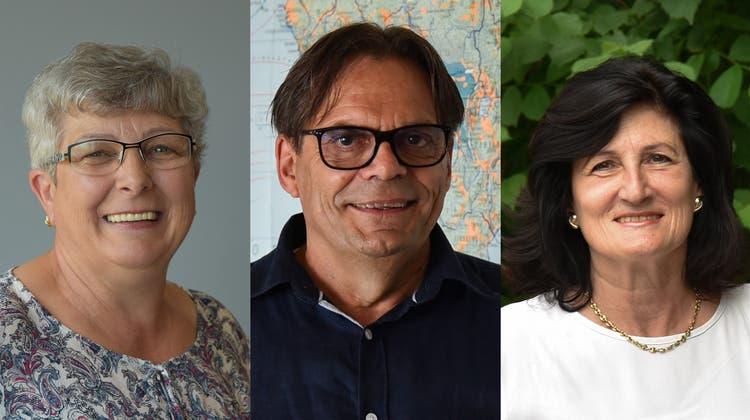 Ein Trio vom Kantihoger Olten sagt auf Wiedersehen