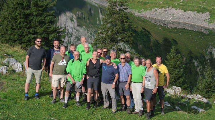 Die Reise der MR Stüsslingen führte 2019 ins Alpstein-Gebiet