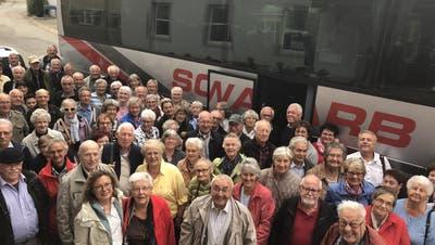 Seniorenausflug der Gemeinde Zeiningen
