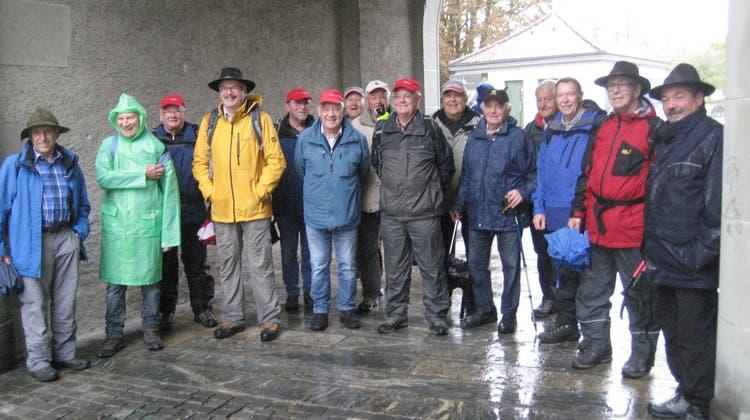 Oktoberwanderung der Wandersleut vom Oberdorf.
