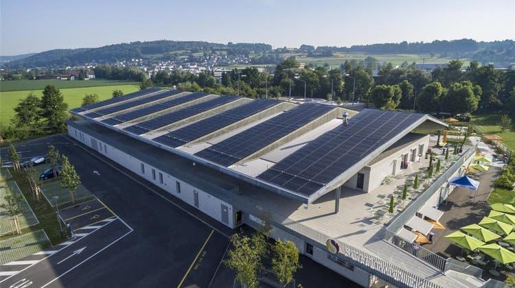 IBW holt den Solarpreis mit ihrer Photovoltaikanlage