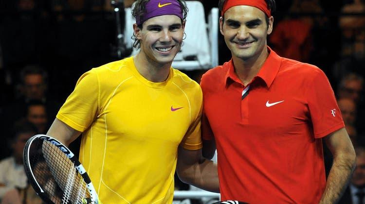 Federer siegt in Kapstadt gegen Nadal – für einen guten Zweck
