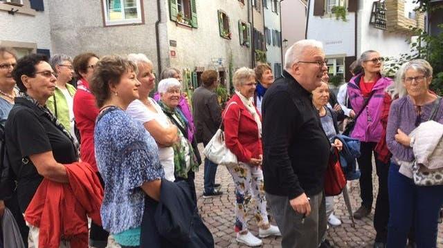 Frauen Herznach-Ueken: Stadtführung in Rheinfelden