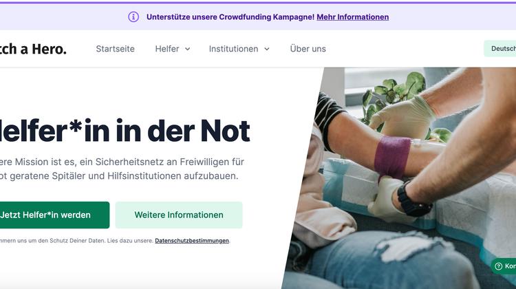 Website vermittelt Freiwillige an Spitäler – das kommt hinter den Kulissen nicht nur gut an