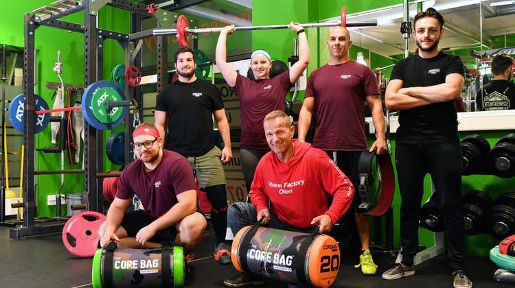 Medaillenregen für Oltner an der Powerlifting-Meisterschaft