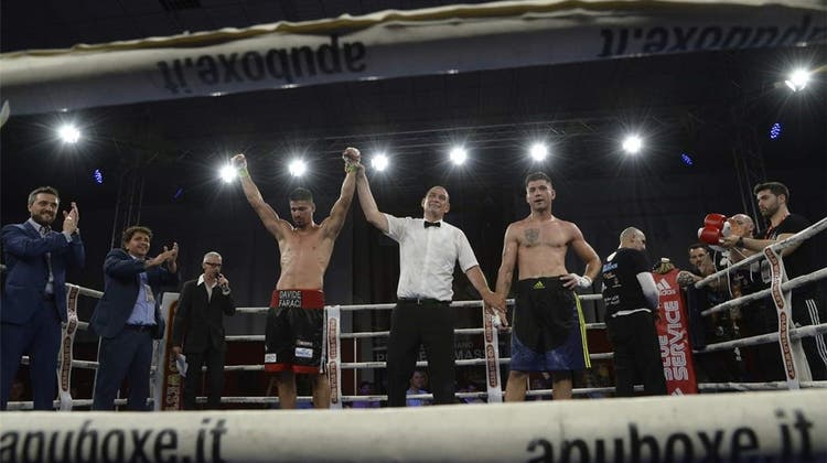 Zurzibieter Boxer Davide Faraci erobert Italien