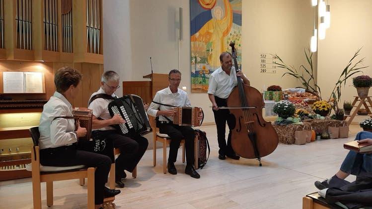 Erntedankgottesdienst in Teufenthal