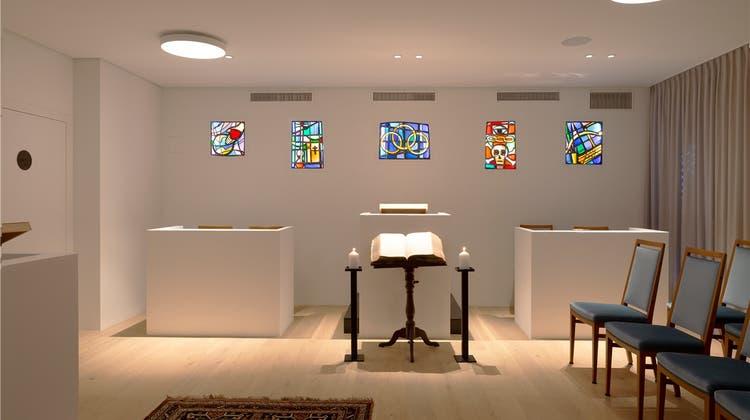 Die Odd Fellows weihten ihren Neubau ein – inklusive einem Versammlungsraum für Rituale