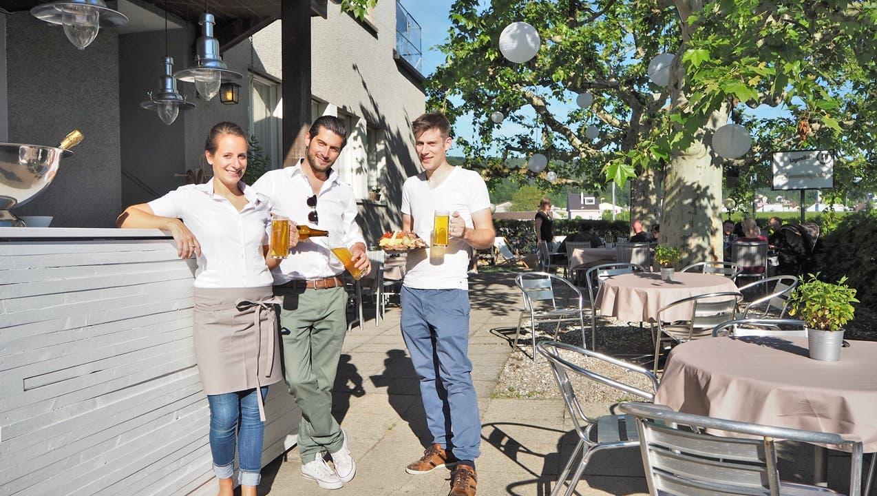 Die «Sommerhalde» lebt mit einem neuen Biergarten wieder auf