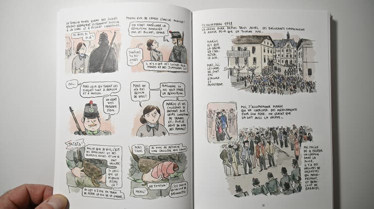 Neues Comic «Le siècle d'Emma» beginnt in Grenchen