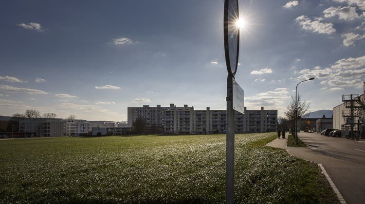 Im Hofgarten sollen schon bald 100 Pflegebetten Platz finden