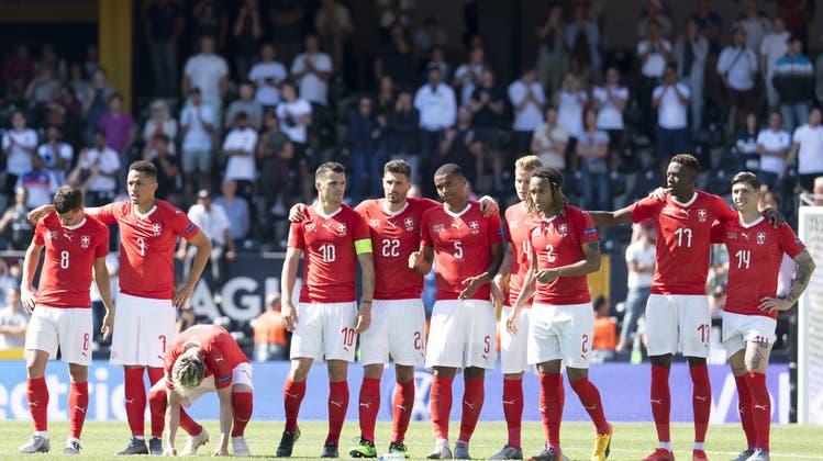 England gewinnt im Penaltyschiessen – die Schweizer gehen als Verlierer vom Platz
