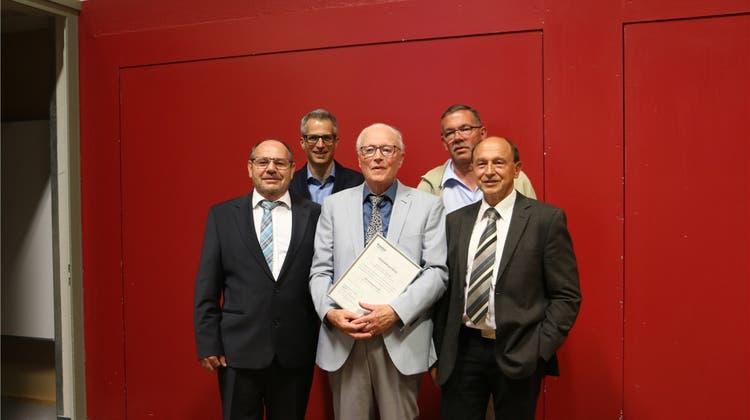Georg Winter erhält das Ehrenbürgerrecht