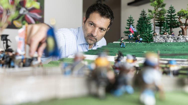 Er hat seine eigene Playmobil-Armee – und stellt damit den Amerikanischen Bürgerkrieg nach