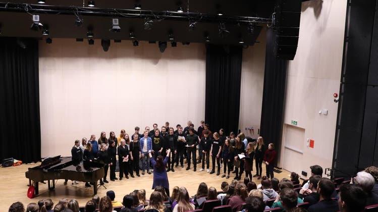 """""""Unvergesslicher Moment"""": Der Kanti-Chor gibt in Norwegen ein Konzert"""