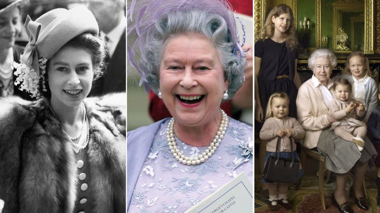 Das Leben von Queen Elizabeth in Bildern.