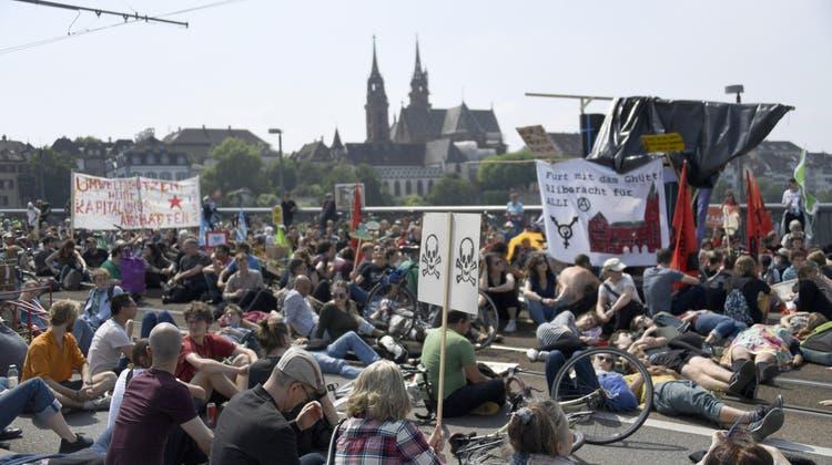 Gericht: Basler Behörden durften Demonstration via Wettsteinbrücke verlegen