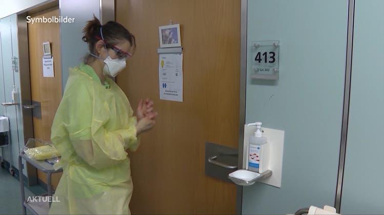 Zahl der Coronavirus-Todesopfer erhöht sich im Aargau von drei auf acht – jüngste Person 38-jährig