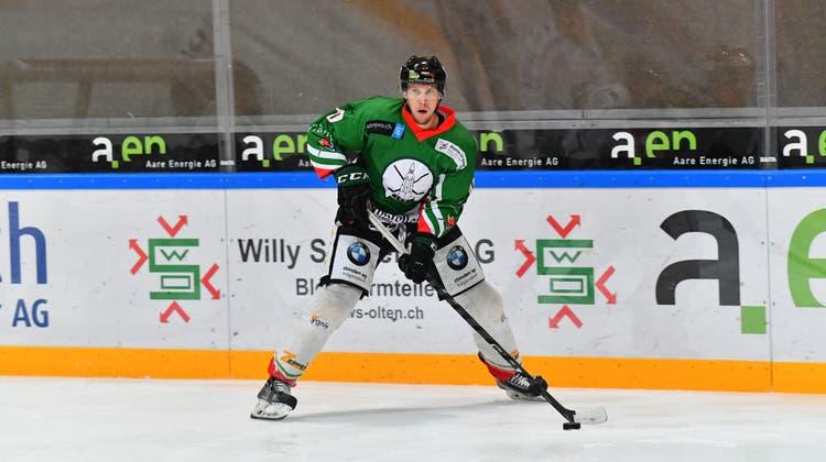 Ex-EHCO-Spieler Cédric Schneuwly zwischen Arbeitsalltag und Amateurhockey