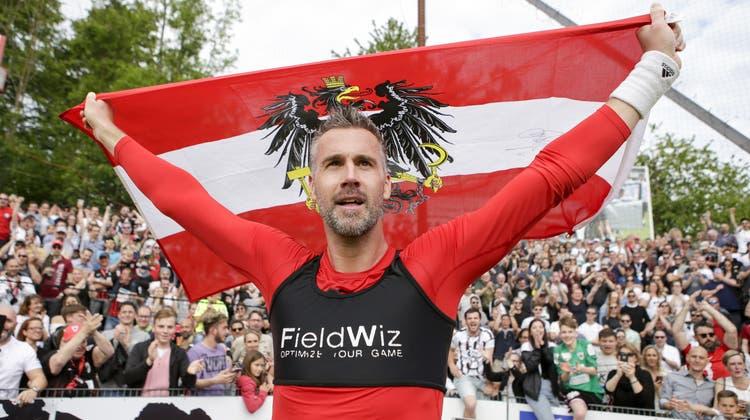 Nach der Vertragsauflösung in Aarau: Stefan Maierhofer stürmt künftig für Swarovski Tirol