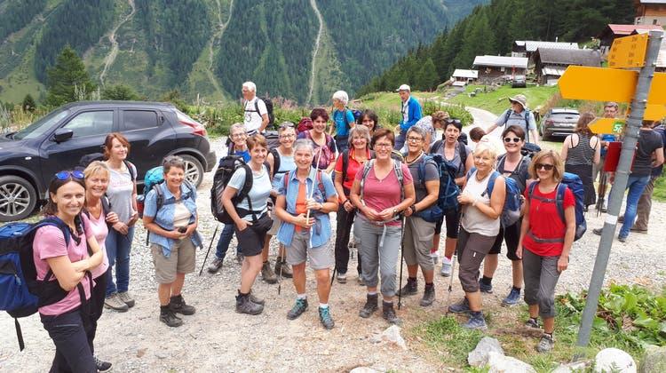Frauenturnverein Zetzwil auf Vereinsreise im Lötschental