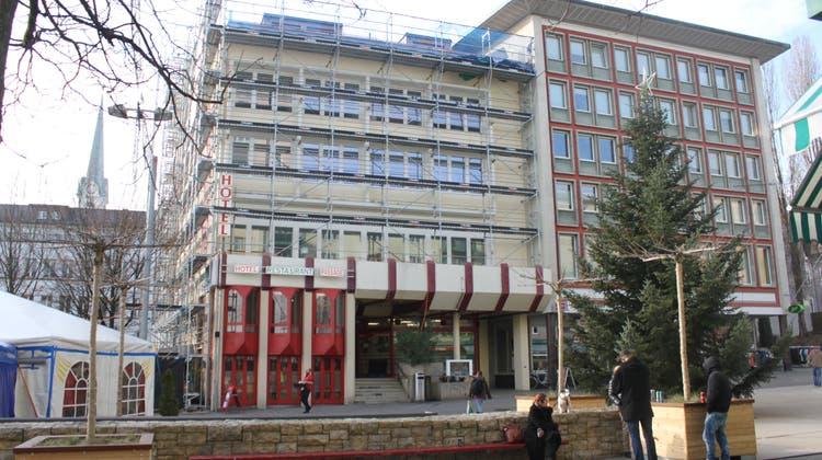 Nach Baustopp beim Wiederaufbau: Die ersten Hotelzimmer im «Passage» sollen ab Februar bereit sein