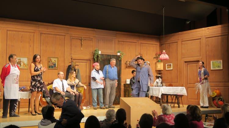 Bei dieser Aufführung spielt das Publikum manchmal mit — ein Stück für Menschen mit Behinderung