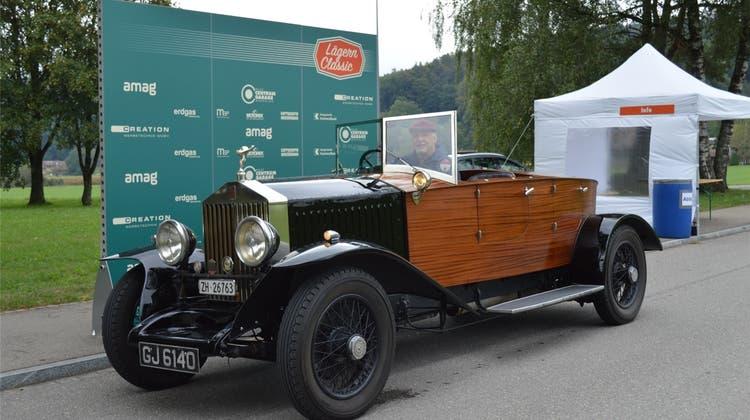 Old- und Youngtimer: Vom Fiat 500 bis zum Rolls-Royce am «Lägern Classic»