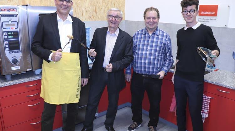 Im Onderwerch ist's angerichtet: Die neue Küche ist eingeweiht